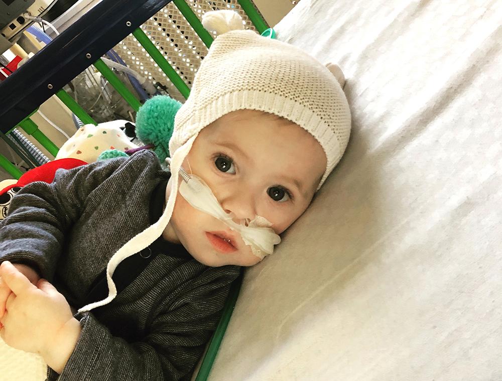 Baby Jake O'Donovan at Temple Street Children's Hospital, Dublin