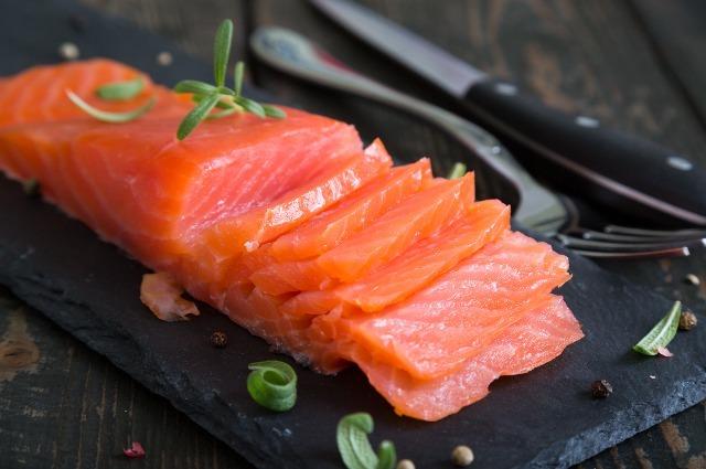 Photo of smoked salmon