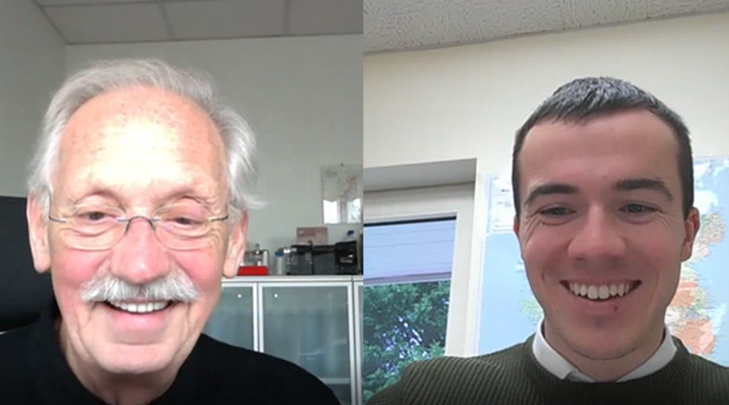 Johannes de Bie and Ferdia Coughlan discuss (via video conference) the new business partnership between Carbon Group and OenoBioTech