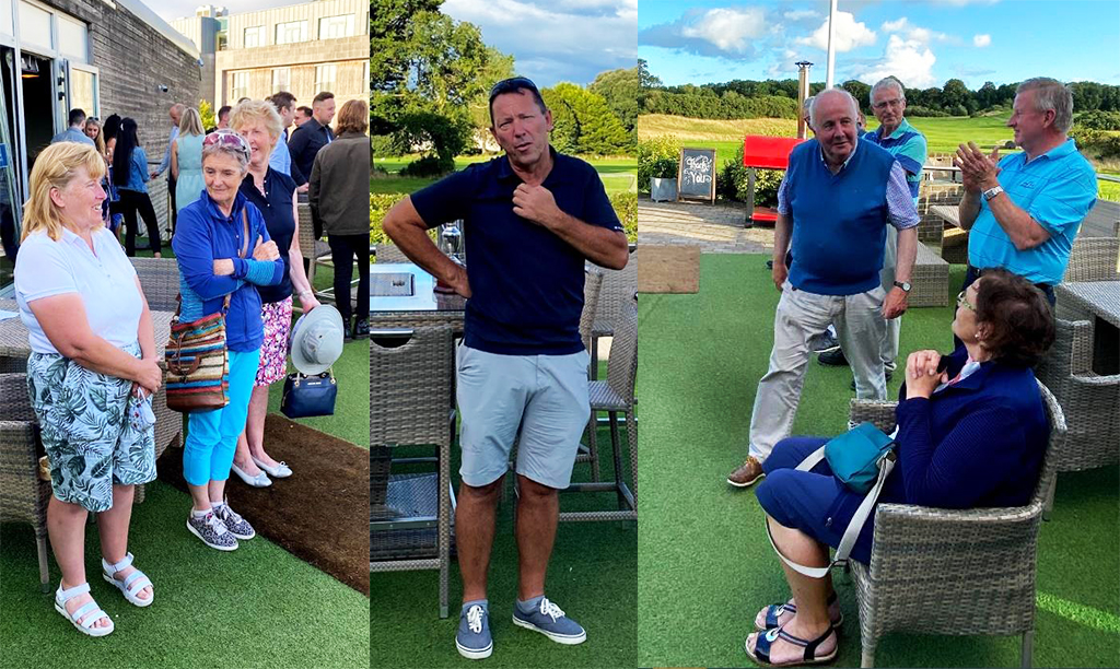 Dairy Science Golfing Society - event collage